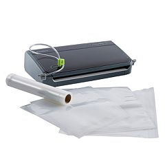 FoodSaver FM2106 Manual Vacuum Sealing System with Bonus Bags