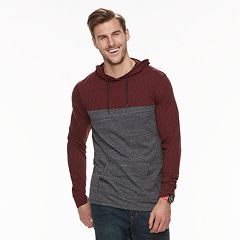 Big & Tall Urban Pipeline™ Mock-Layered Hoodie Tee