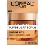 L'Oréal Paris Smooth and Glow Grapeseed Pure Sugar Scrub