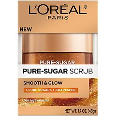 L'Oréal Paris Smooth and Glow Grapeseed Pure Sugar Scrub