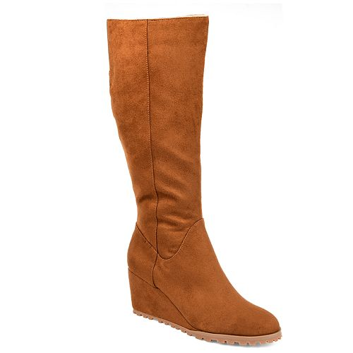 7d66d868dbf1 Journee Collection Parker Women's Knee High Wedge Boots