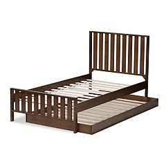 Baxton Studio Modern Twin Bed & Trundle
