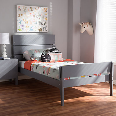 Baxton Studio Modern Twin Platform Bed