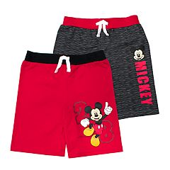 Disney's Mickey Mouse Toddler Boy 2 Pack Shorts