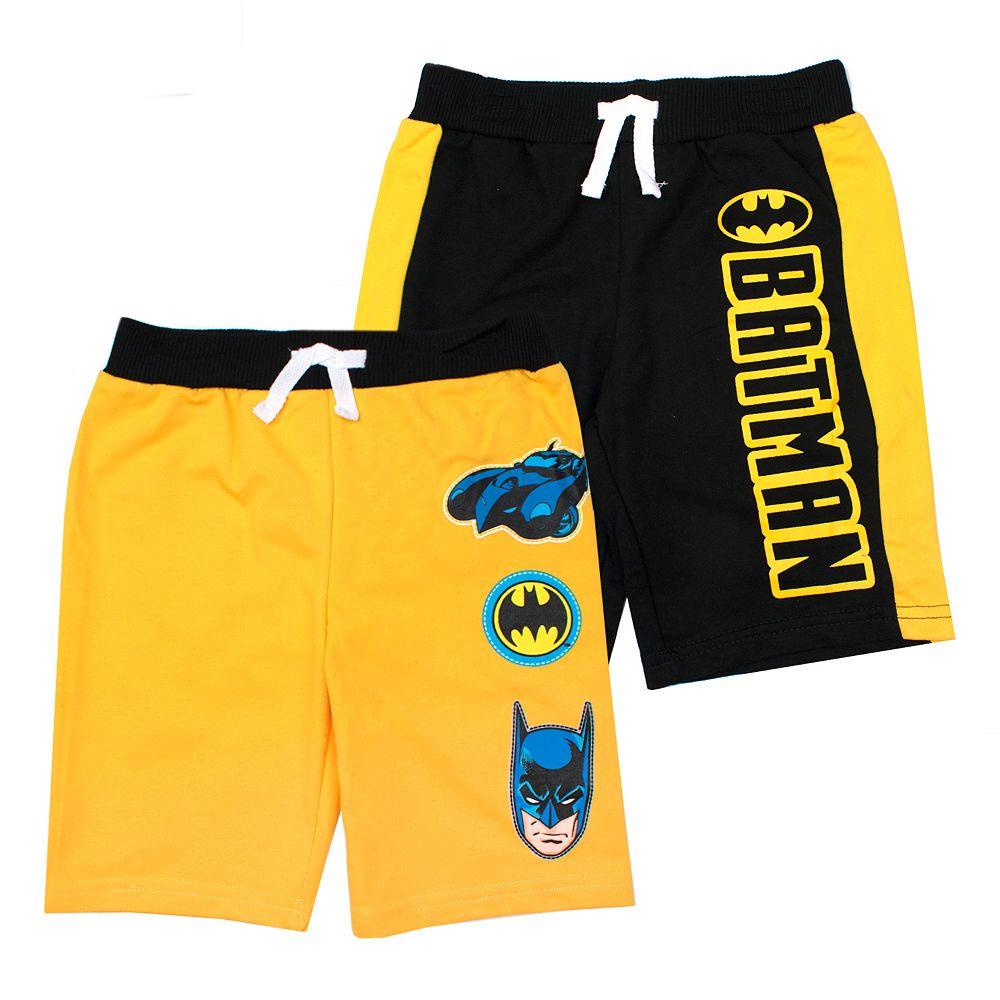 Toddler Boy DC Comics Batman 2 Pack Shorts