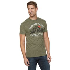 timeless design 60943 9ef5e Men s SONOMA Goods for Life™ Graphic Tee. Graphite Heather Rusty Red ...