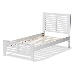 Baxton Studio Modern Twin Platform Bed
