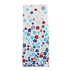 Celebrate Americana Together Stars Printed Hand Towel
