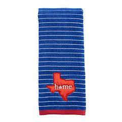 Celebrate Americana Together Home Texas Hand Towel