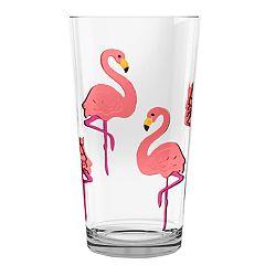 Celebrate Summer Together Flamingo Highball Glass