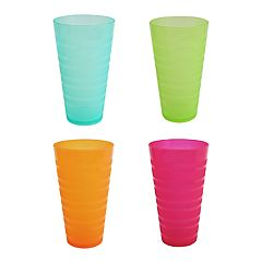 Celebrate Summer Together 4-pc. Warm Colors Cup Set
