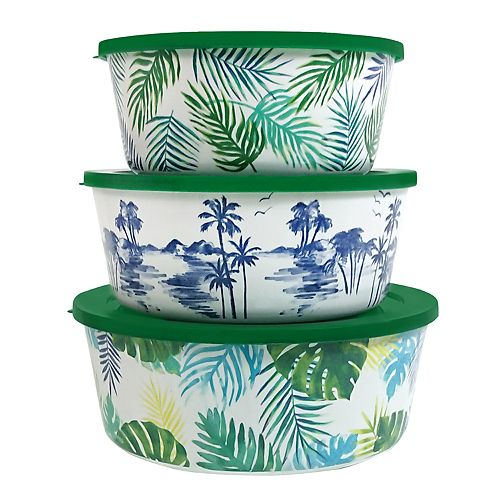 Celebrate Summer Together Palm Stacking Container Set