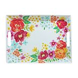 Celebrate Summer Together Floral Tray with Handles