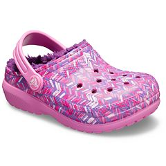 Crocs Classic Lined Graphic Girls' Clogs