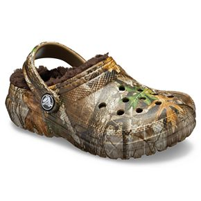 Crocs Classic RealTree Edge Lined Boys' Clogs