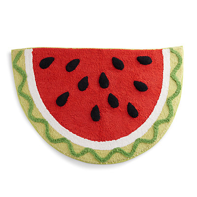 Celebrate Summer Together Watermelon Bath Rug