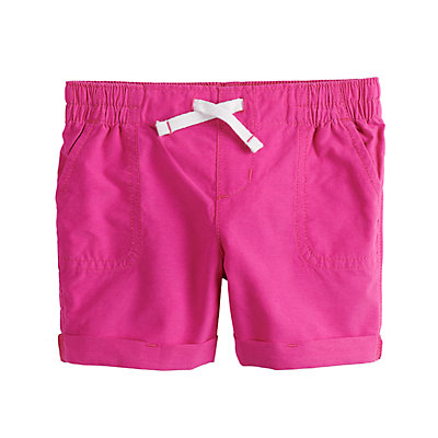 Toddler Girl Jumping Beans® Roll-Cuff Shorts