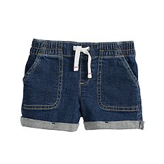 Toddler Girl Jumping Beans® Rolled-Cuff Denim Shorts