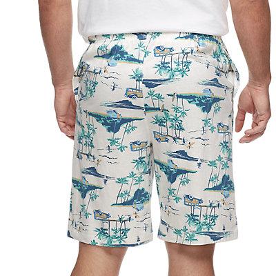 Big & Tall Croft & Barrow® Patterned Sleep Shorts