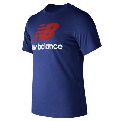 Men's New Balance Stacked Logo Tee
