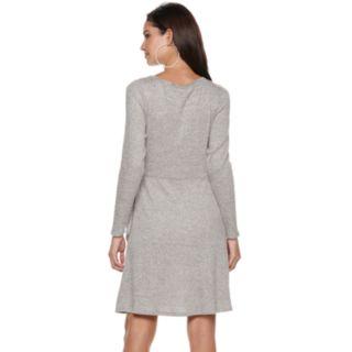 Women's Jennifer Lopez Knot-Front Dress