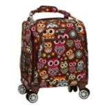 Rockland Melrose Wheeled Underseat Carry-On Spinner Luggage