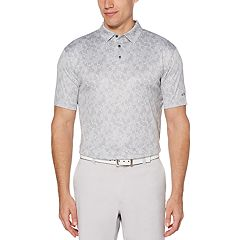 Big & Tall Grand Slam All Over Leaf Print Polo