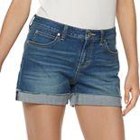 Women's Jennifer Lopez Rocking Cuffed Jean Shorts