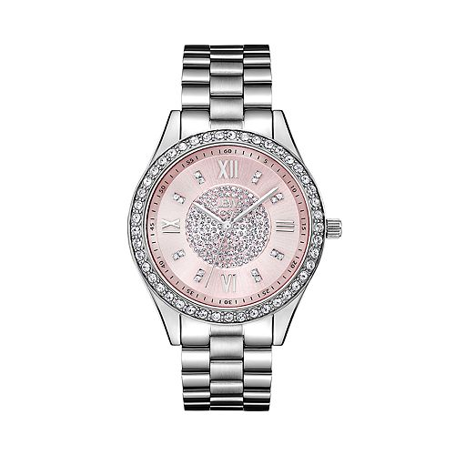 Women's JBW Mondrian Diamond Accent & Crystal Stainless Steel Watch - J6303F