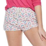 Juniors' SO® Printed Dolphin Hem Shorts
