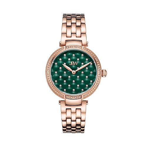 Women's JBW Gala Diamond Accent & Crystal 18k Rose Gold-Plated Watch - J6356B