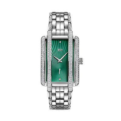 Women's JBW Mink Diamond Accent & Crystal Stainless Steel Watch - J6358A
