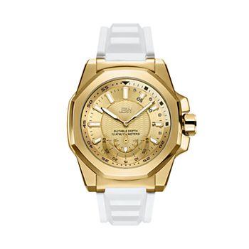 Men's JBW Delmare Diamond Accent & Crystal 18k Gold-Plated Watch - J6359E