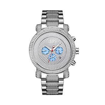 Men's JBW Victor Diamond Accent Stainless Steel Watch - JB-8102-B