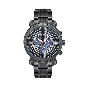 Men's JBW Victor Diamond Accent Black Ion-Plated Watch - JB-8102-G
