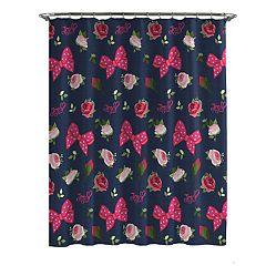 JoJo Siwa Roses and Bow Shower Curtain & Hooks