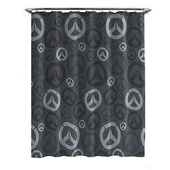 Blizzard Overwatch Shower Curtain & Hooks