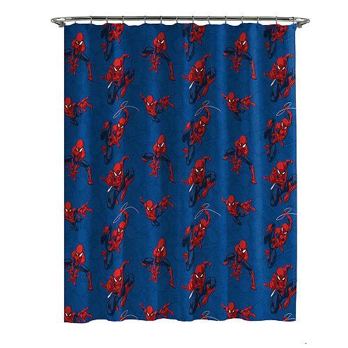 Spiderman Spidey Crawl Shower Curtain Hooks