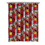 Disney / Pixar Incredibles 2 Shower Curtain & Hooks