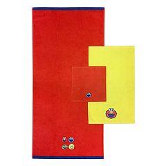 Sesame Street 3-piece Bath Towel Set