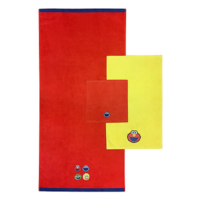 Sesame Street 3-piece Bath Towel Set