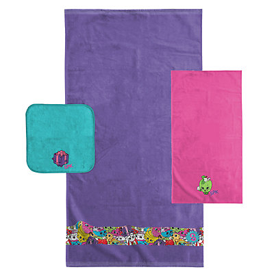 Shopkins 3-piece Bath Towel Set
