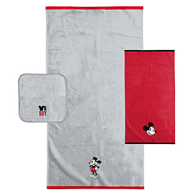 Disney's Mickey Mouse 3-piece Bath Towel Set
