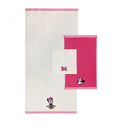 Disney's Minnie Mouse 3-piece Bath Towel Set