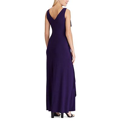 Women's Chaps Ruffle Full-Length Dress