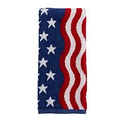 Wavy Flag Hand Towel