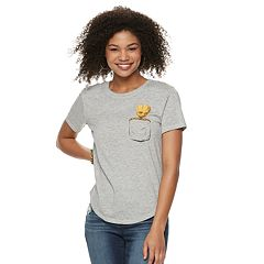 Juniors' Marvel Guardians of the Galaxy Groot Tee