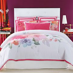 Christian Siriano Bold Floral Duvet Cover Set