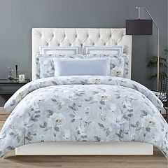 Christian Siriano Soft Floral Duvet Cover Set
