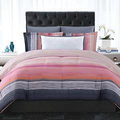 Christian Siriano Sunset Stripe Duvet Cover Set